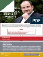 Workshop INNOVACIÓN A PARTIR DE INSIGHTS por Eduardo Sebriano Lima Perú