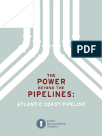 Atlantic Coast Pipeline Report