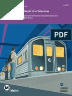 Purple Line Extension SEIS