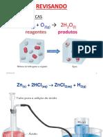 Resumão Com Exemplos e Exercícios de Reações Químicas