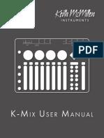Kmix Manual