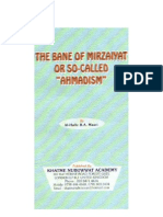 The Bane of Mirzaiyat or So Called Ahmadism