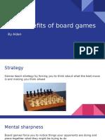 board game presentation