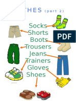 Clothes Pictionary Part 2