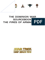Star Trek RPG - Dominion War Sourcebook