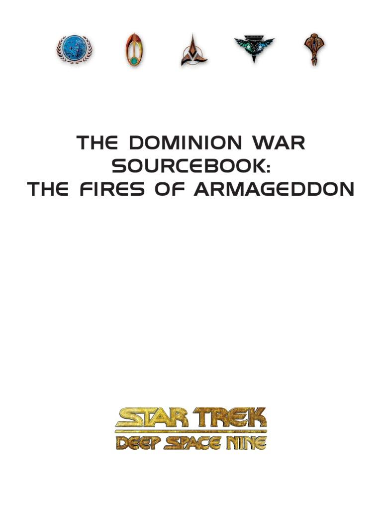 Star Trek RPG - Dominion War Sourcebook | Dominion (Star Trek
