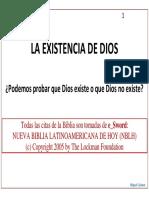 La Existencia de Dios_ppt