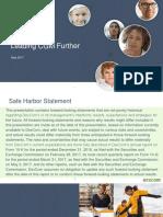 DexCom Investor Presentation 05-05-17