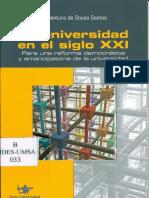 Boaventura - La universidad del siglo XXI.pdf