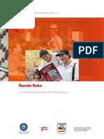 Comprension Guarani ÑANDE REKO