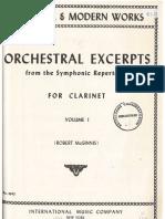 Solos Orquesta Clarinete Book 1 IMC