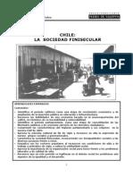 Chile La Sociedad Finisecular