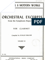 Solos Orquesta Clarinete Book 7 IMC