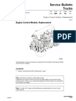 Engine Control Module, Replacement