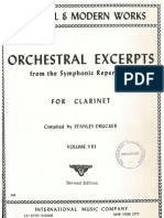 Solos Orquesta Clarinete Book 8 IMC