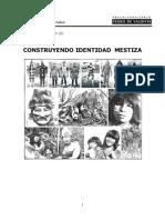 CONSTRUYENDO IDENTIDAD MESTIZA