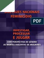 FEMINICÍDIO - DIRETRIZES NACIONAIS.pdf