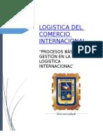 (Trabajo) Logística Del Comercio Internacional