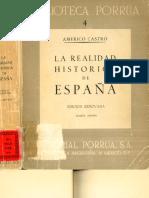 Americo Castro realidad historica de españa .pdf