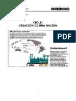 m.a Chile Creacion de Una Nacion