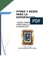(Trabajo) Gestión de Pymes y Redes Para La Exportación