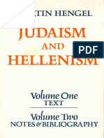 Hengel, Martin - Judaism and Hellenism. Studies in their Encounter in Palestine during the Early Hellenistic Period (Vols. 1 & 2), Fortress Press (1981).pdf