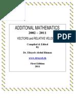 Vectors n Relative Velocity