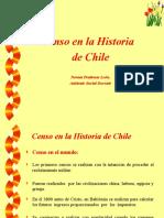 El Censo en La Historia de Chile