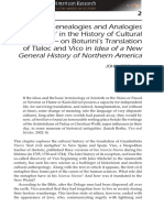 Odemark, John - Genealogies and Analogies of Culture in the History of Cultural Translation on Boturinis Translation of Tlaloc and Vico in Idea of a New General History of Northern America