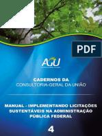 Manual - 4 - Licitações Sustentáveis Na Administração Pública Federal - 2013