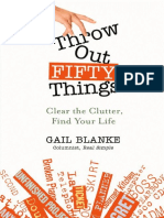 Throw Out Fifty Things- Let Go of Your Clutter And