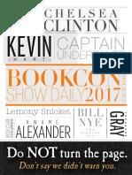 BookCon Show Daily June 4, 2017