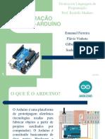 APRESENTAÇÃO TLP - 4ª Equipe - Interação Matlab+Arduino