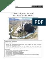 Conociendo tu región - VII region del maule