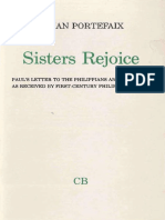 (Coniectanea Biblica. New Testament Series 20) Lilian Portefaix-Sisters Rejoice. Paul's Letter to the Philippians and Luke-Acts as Seen by First-Century Philippian Women -Almqvist & Wiksell Internati