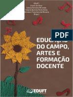 Livro Educação do Campo, Artes e Formação Docente