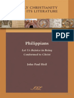 (Early Christianity and Its Literature 3) John Paul Heil-Philippians_ Let Us Rejoice in Being Conformed to Christ-Society of Biblical Literature (2010).pdf