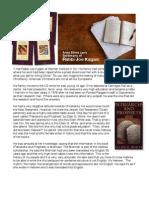 Testimony of a Jewish Rabbi