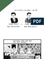 Huxley versus Orwell