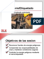 Lockout Tagout Authorized Employee Spanish