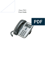 Cisco 7912 User Guide