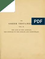 The Greek Testament Vol 2