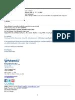 Email Sacs Advanced 5242017