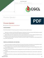 CGCL _ Process Operator
