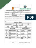 Formato Único de Extracto de Contrato Del Servicio Público de Transporte Terrestre Automotor Especial Yonathan