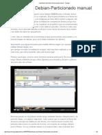 Instalacion de Debian-Particionado Manual - Taringa!