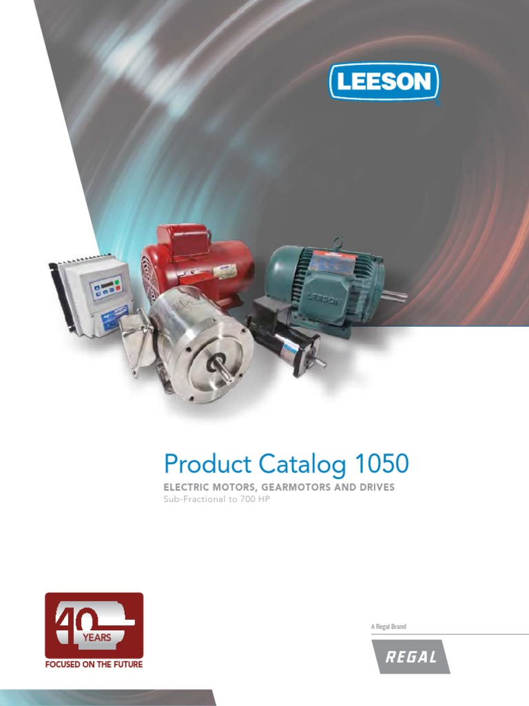 CATALOGO LEESON ELECTRIC CO.pdf | Mechanical Fan | Power (Physics) on