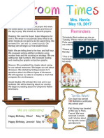 may 18 newsletter