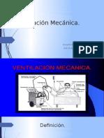 Ventilación Mecánica Presentación 2017