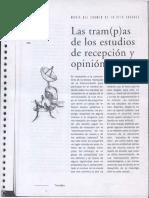 Las Trampas de Los Estudios de Recepcic3b3n y Opinic3b3n Pc3bablica Texto
